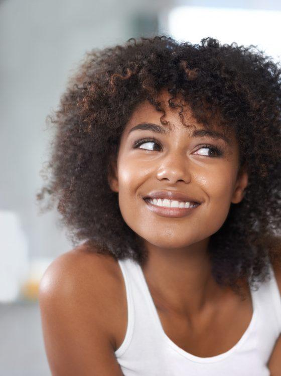 caramel treatment cheveux crépus frisés